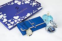 Женский подарочный набор Jesou № 31 Квадратный Синий