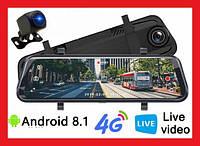 Зеркало видеорегистратор Tian-SU E020 4G, ADAS Full HD, WiFi, GPS