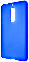 Силиконовый чехол для Nokia 5 Blue