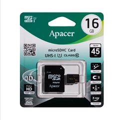 Карта Памяти Apacer MicroSDHC 16gb 10 Class & Adapter