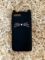Силиконовый чехол Cat для Xiaomi Redmi 6, черный