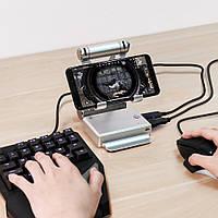 Переходник для клавиатуры и мышки для телефона подставка конвертер джойстик Android геймпад PUBG GameSir X1