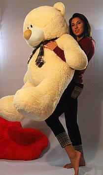 Плюшевый мишка Тедди 140 см персик
