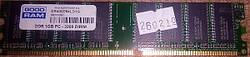 Модуль памяти DDR400 PC-3200 1Gb GoodRam