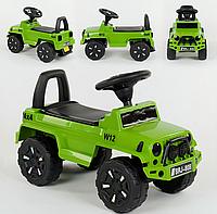 Машина-Толокар JOY 808 G-8001 русское озвучивание, световые эффекты, багажник (разные цвета)