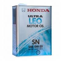 Моторное масло синтетическое Honda Ultra LEO SN/GF-5 0W-20 4л