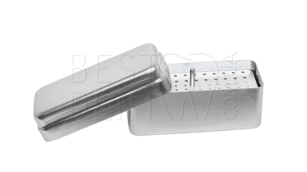 Стерилизатор для боров и эндо файлов (средний) 72отв, серый