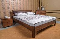 Кровать Олимп Марго с мягкой спинкой без изножья массив бука