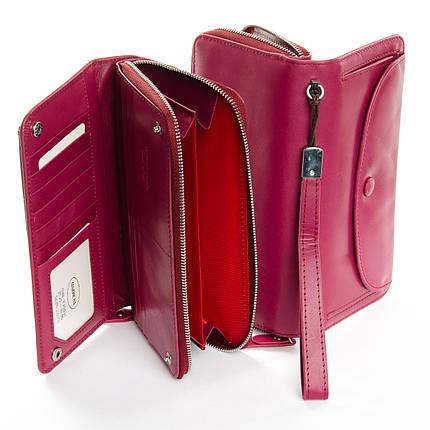 Кошелек Classic кожа DR. BOND WS-22 purple-red, фото 2