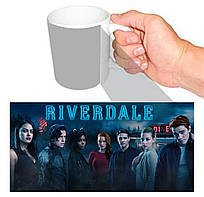Чашка біла Рівердейл / Riverdale