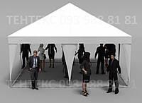 "Торговый шатер ""Пирамида 5х5""  Белый, фото 1"