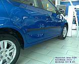 Молдинги на двери для Сhevrolet Aveo T300 5dr 2011+, фото 4