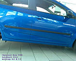 Молдинги на двери для Сhevrolet Aveo T300 5dr 2011+, фото 2