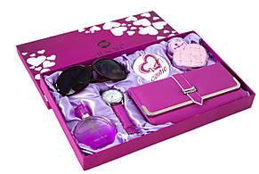 Женский подарочный набор Jesou № 32 Квадратный Розовый