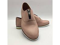 Розовые ,кожаные ,мягкие туфли.Турция, фото 1