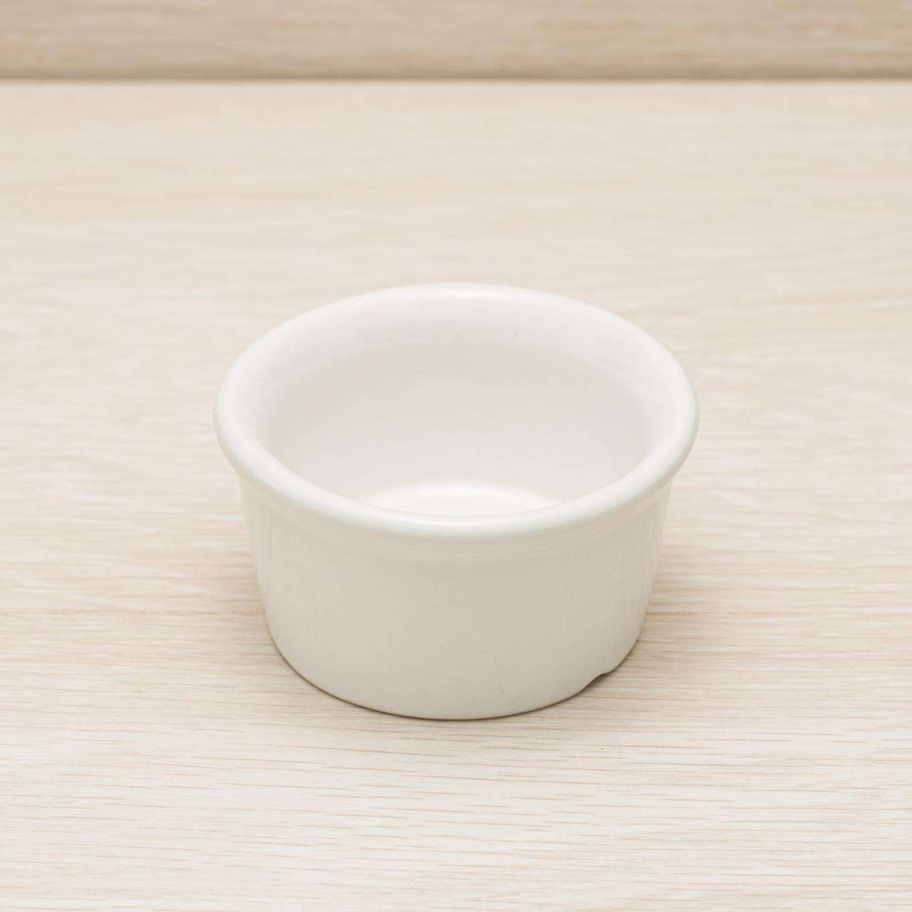 Соусница керамическая белая 100мл, 8 см