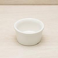 Соусница керамическая белая 100мл, 8 см, фото 1