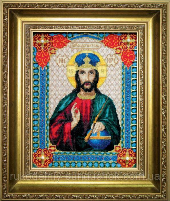 """Набір для вишивки хрестиком Чарівна Мить 467 """"Ікона Господа Ісуса Христа"""""""
