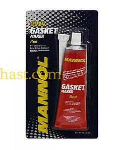 Герметик   85г   (красный) (вулканизирующийся)    (9914 Gasket Maker Red)   MANNOL
