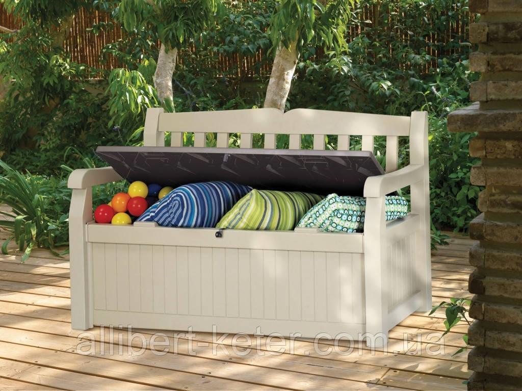 Скамья-сундук Keter Eden Garden Bench 265 L