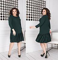 Женское модное платье свободного кроя производство Украина M1828
