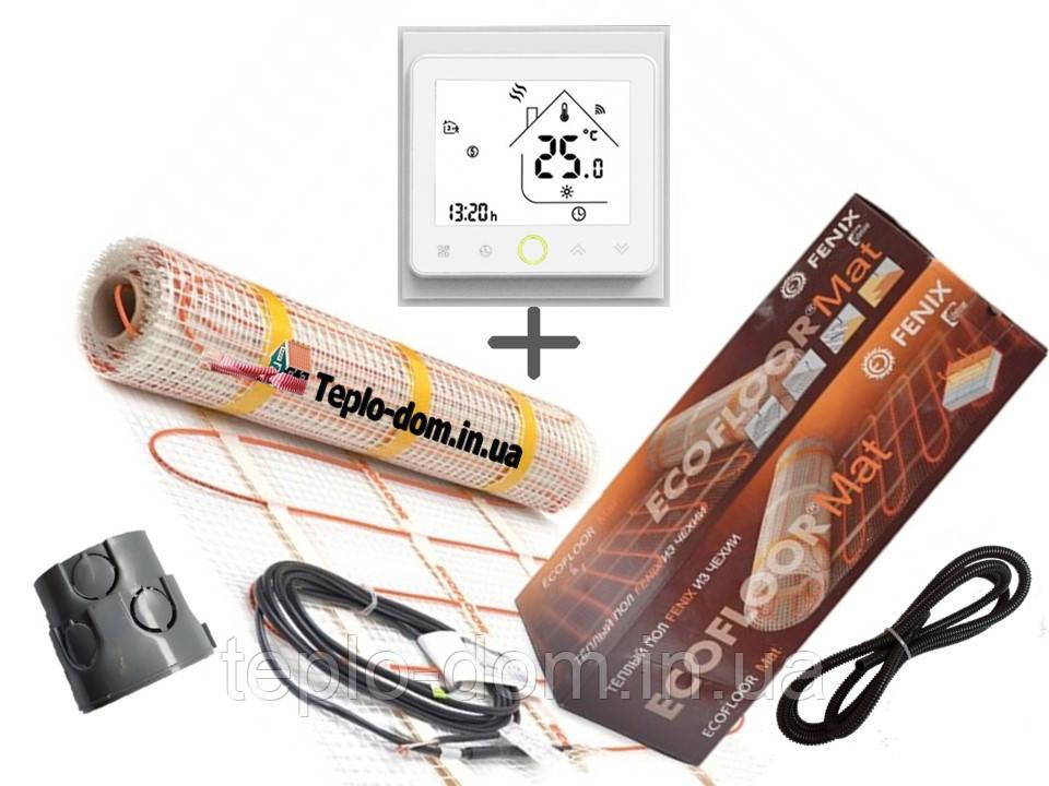 Нагревательный мат Fenix LDTS 121800 ( 11 м2) с WI-FI thermostat TWE02  Премиум ( Р )