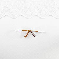 Очки для куклы 8*2.8 см Белые