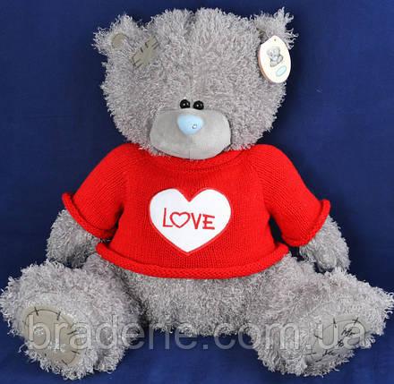 Мягкая игрушка Медведь Тедди в кофте 1565-56, фото 2