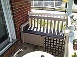 Скамья-сундук Keter Eden Garden Bench 265 L, фото 5