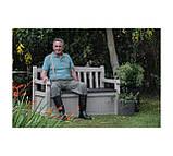 Скамья-сундук Keter Eden Garden Bench 265 L, фото 9