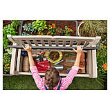 Скамья-сундук Keter Eden Garden Bench 265 L, фото 8