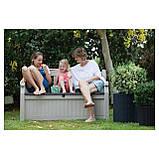 Скамья-сундук Keter Eden Garden Bench 265 L, фото 10