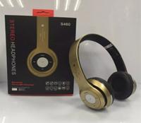 Наушники беспроводные S460 (bluetooth+SD card+FM+with cable)