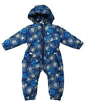 Комбинезон детский синий  74, 80, 86