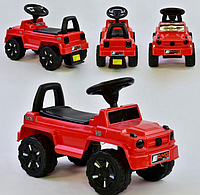 Машина-Толокар 809 V-10505 JOY русское озвучивание, световые эффекты, багажник, в коробке