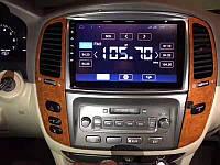 Магнитола Toyota Land Cruiser 100 2005-2007 Android с хорошей звуковой настройкой (М-ТЛ-10)