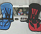 Бескаркасное Автокресло Multi Function Car Cushion Детское на 9-18 кг, красного цвета, фото 3