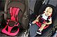Бескаркасное Автокресло Multi Function Car Cushion Детское на 9-18 кг, красного цвета, фото 9