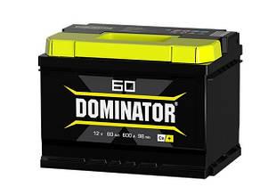 Аккумулятор DOMINATOR Standart 60Ah 540A 12V L (190x242x175)