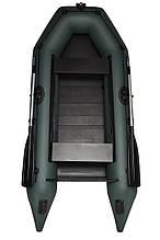 Лодка пвх надувная двухместная под мотор Grif boat GM-270