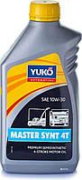 Масло   4T, 1л   (10W30, полусинтетика, для садовой техники, MASTER SYNT)   YUKO   (GRS)