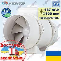 ВЕНТС ТТ 100 В с переключателем скоростей (VENTS TT 100 V), фото 1