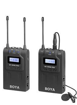 Петличный микрофон Boya BY-WM8 Pro-K1 - радиомикрофон (безпроводная микрофонная система)