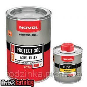 PROTECT 300 Акриловий грунт 4+1 чорний + Затверджувач H5220
