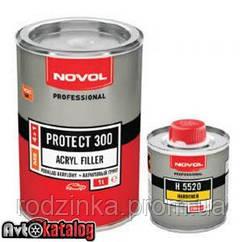 PROTECT 300 Акриловый грунт 4+1 красный + отвердитель H5220