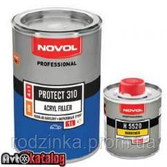 PROTECT 310 Акриловый грунт 4+1 серый + отвердитель H5220