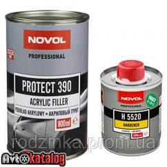 PROTECT 390 Акриловый грунт 4+1 серый + отвердитель H5520