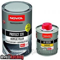PROTECT 320 Акриловый грунт 4+1 черный + отвердитель H5520
