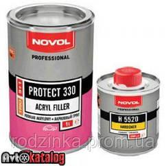 PROTECT 330 Акриловый грунт 5+1 черный + отвердитель H5520