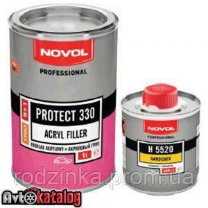 PROTECT 330 Акриловий грунт 5+1 сірий + Затверджувач H5520